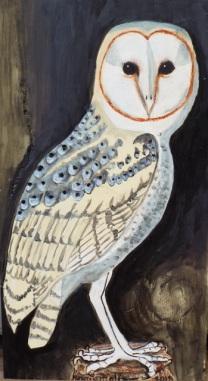 Lechuza-Barn Owl